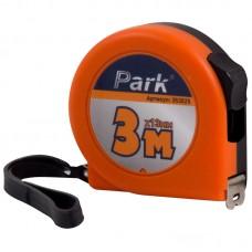 Рулетка Park с фиксатором, пластиковый корпус, 3мx13мм TM25-3013