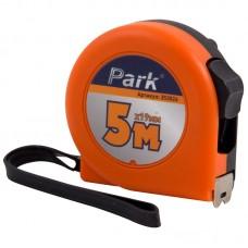 Рулетка Park с фиксатором, пластиковый корпус, 5мx19мм TM26-5019