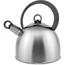 Чайник из нержавеющей стали Mallony DJA-3026 (2,2 литра, со свистком, капсульное дно)