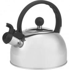 Чайник из нержавеющей стали Mallony DJA-3033 (3,0 литра, со свистком, капсульное дно)