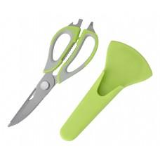 Ножницы кухонные многофункциональные KS-128С с чехлом, 22,8 см
