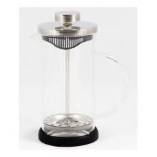 Чайник/кофейник (кофе-пресс) стеклянный, серии Nero, 350 мл, цвет - черный