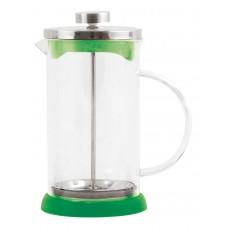 Чайник/кофейник (кофе-пресс) стеклянный, серия Verde, 1000 мл, цвет - зеленый