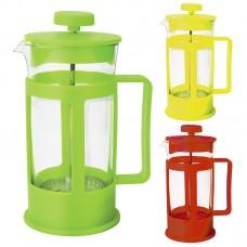 Чайник/кофейник (кофе-пресс) с пластиковым корпусом Plastico-600, объем - 600 мл,тм Mallony