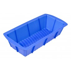 Форма для выпечки прямоугольная BFS-P25,5*12,5, размеры: 25,5*12,5*6 см  (силикон)