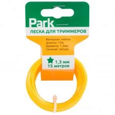 Леска  для триммеров Park 1,3мм, 15м, звезда (СДВ)