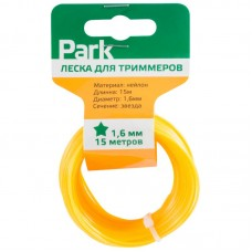 Леска  для триммеров Park 1,6мм, 15м, звезда