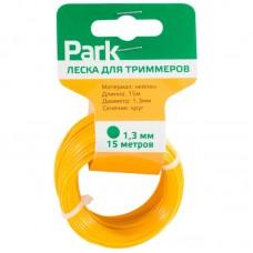 Леска  для триммеров Park 1,3мм, 15м, круг (СДВ)