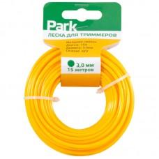 Леска  для триммеров Park 3,0мм, 15м, круг (СДВ)