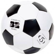 Мяч футбольный BL-2001 (№5, 2 цвет., машин. строчка, ПВХ)