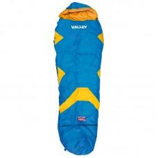 Мешок спальный детский - Valley  Цвет синий с оранжевым