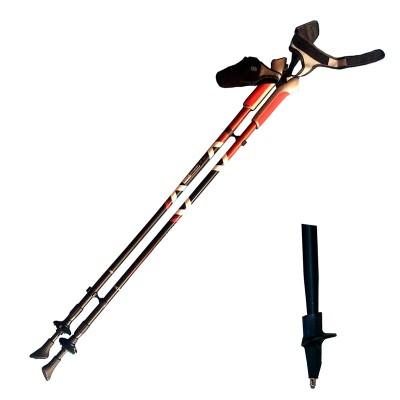 Алюминиевые телескопические палки для скандинавской ходьбы, AQD-B013A