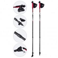 Палки для скандинавской ходьбы телескопические, AQD-B014A