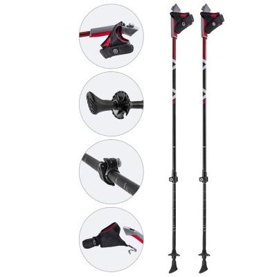 Алюминиевые телескопические палки для скандинавской ходьбы, AQD-B014B