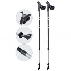 Палки для скандинавской ходьбы телескопические, AQD-B017 gray