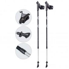 Палки для скандинавской ходьбы телескопические, AQD-B020 gray