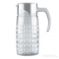 Кувшин стеклянный с пласт крышкой, серия Nettare, литраж - 1 л, Mallony
