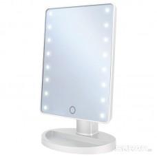 Зеркало косметическое ENERGY EN-704, LED подсветка