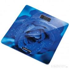 Весы напольные электронные HOMESTAR HS-6002C  (стеклянная поверхность, 180 кг, термометр)