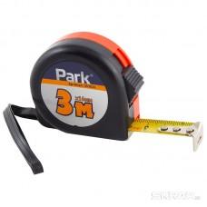 Рулетка Park с фиксатором, пластиковый корпус, 3мx16мм TM36-3016