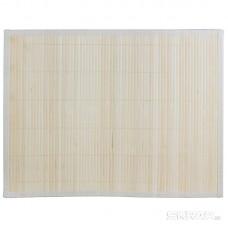 Салфетка сервировочная из бамбука BM-02, цвет: белый