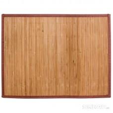 Салфетка сервировочная из бамбука BM-03, цвет: коричневый