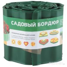 Бордюр для газонов, грядок Park(С) H=15 cm, L=9 m зеленый