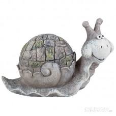 Фигурка садовая «Улитка» MN160291-11, материал: полистоун, размеры: 27.5*11*17 см