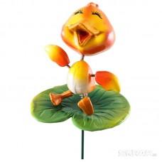 """Штекер садовый """"Утенок на цветке"""" GS-AR3158-5"""