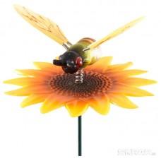 """Штекер садовый """"Жучок на цветке"""" GS-AR2032-5"""