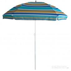 Зонт пляжный BU-61 диаметр 130 см, складная штанга 170 см