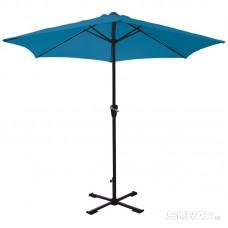 Зонт садовый GU-03 (синий) с крестообразным основанием