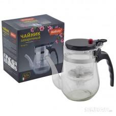 Чайник заварочный с кнопкой серия Gung Fu, литраж - 0,5, тм Mallony