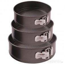 Набор из 3-х форм для выпечки раскладных SF-002SET (диам.20,22,24 см)