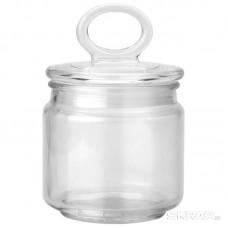 Стеклянная банка для сыпучих продуктов с крышкой COPPETTA, объем: 0,45 л, тм Mallony