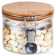 Стеклянная банка для сыпучих продуктов с крышкой CORONA, объем: 0,5 л, тм Mallony