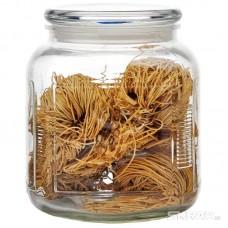 Стеклянная банка для сыпучих продуктов со стекл плоской крышкой, ARIA, объем: 2 л, тм Mallony