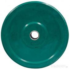 Бамперный диск для штанги 20кг. (цветной)