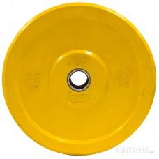 Бамперный диск для штанги 25кг. (цветной)