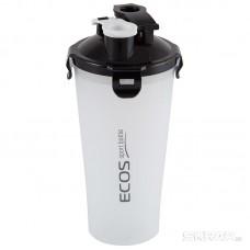 Двухсекционный спортивный шейкер ECOS HBS02, 1л