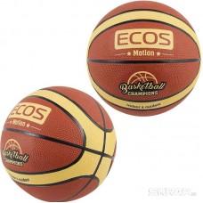Мяч баскетбольный ECOS MOTION BB105 (№7, 2 цвета,12 панелей)
