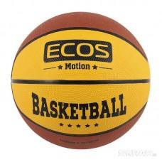 Мяч баскетбольный ECOS MOTION BB120 (№7,2 цвета, 8 панелей)