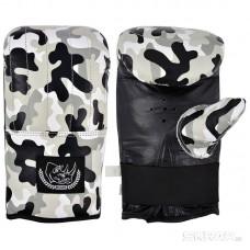 Перчатки тренировочные BG-861L (кожа, размер L, цвет камуфляж)