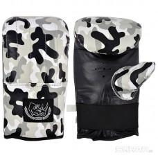 Перчатки тренировочные BG-861XL (кожа, размер XL, цвет камуфляж)