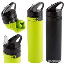 Спортивная силиконовая бутылка ECOS SH-03, 650мл