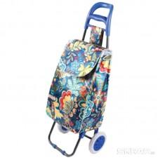 """Тележка с сумкой A2S-25 """"Cказка"""", 30 кг Рыжий кот"""