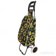 """Тележка с сумкой Рыжий кот A204 """"Подсолнух"""", 30 кг"""