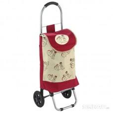 """Тележка с сумкой WR3031 """"Прогулка"""" Рыжий кот"""