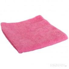 Салфетка из микрофибры M-01, цвет: розовый, размер: 30*30см