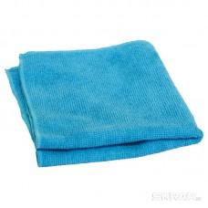 Салфетка из микрофибры M-01, цвет: синий, размер: 30*30см